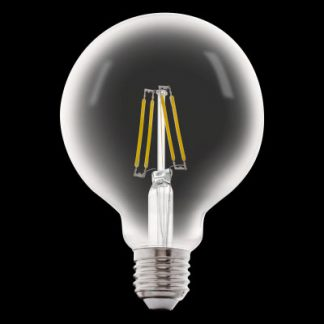 Bombilla globo filamento led