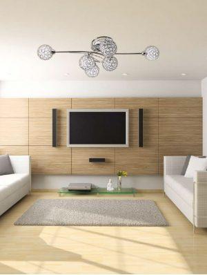 Lámpara techo plafón estilo moderno