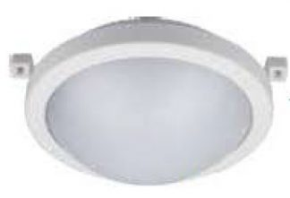 Aplique led redondo 12W policarbonato Davie