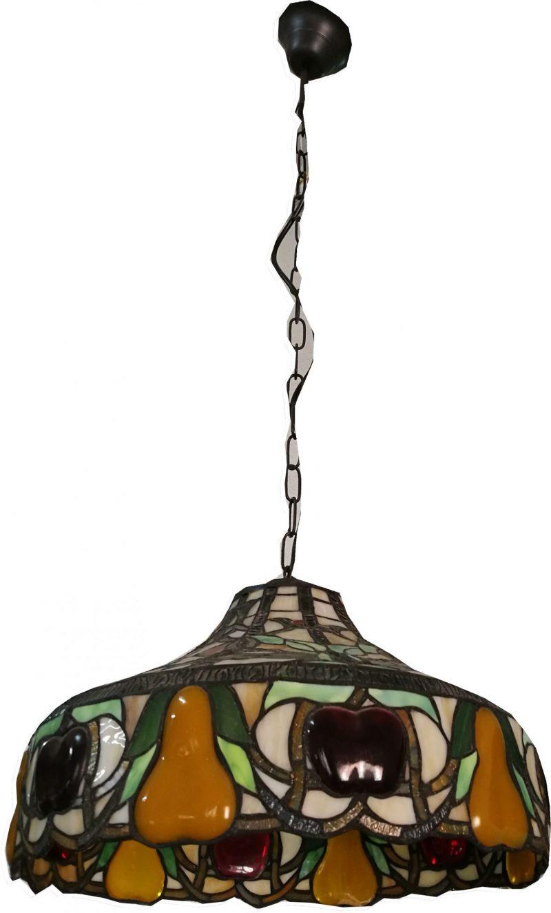 Lámpara colgante 3 luces Tiffany