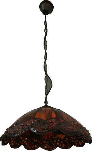 Lámpara colgante 1 luz Tiffany