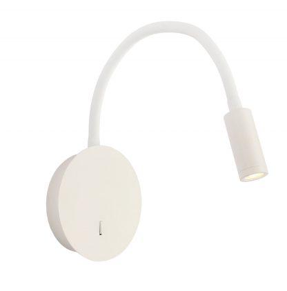 Aplique led blanco mate flexo 3W