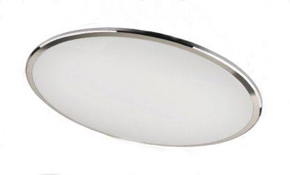Plafón led redondo cromo brillo Onix