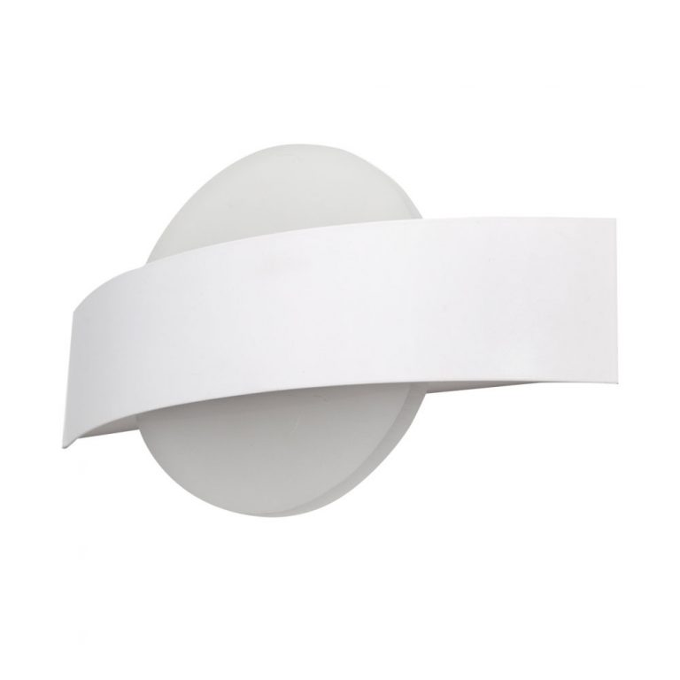Lámpara pared led curvado Coseno redondo