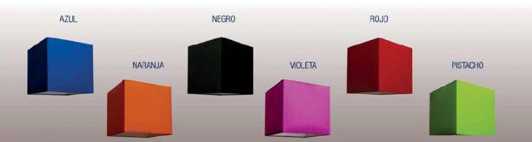 Pantalla cubo 14x14x15cm