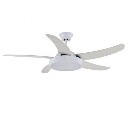 Ventilador techo led 5 aspas con mando Cauro