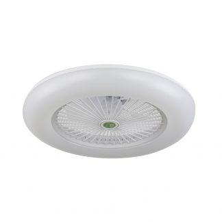 Plafón ventilador 80W 3 tonos de luz Raki