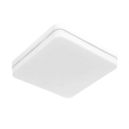 Plafon led cuadrado blanco Bismuto