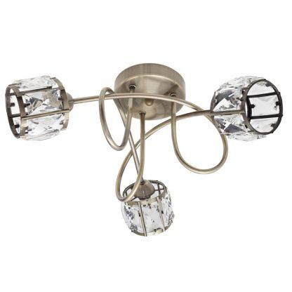 Lámpara plafón 3 luces Esencia