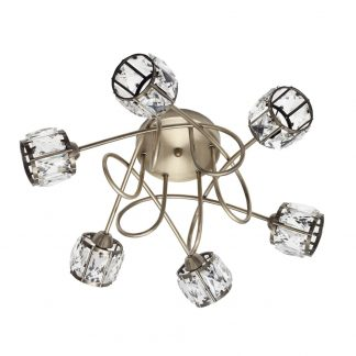 Lámpara plafón 6 luces Esencia