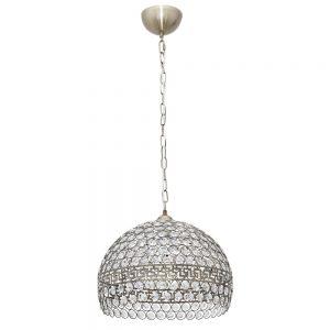 Lámpara colgante cristales talla Nemes