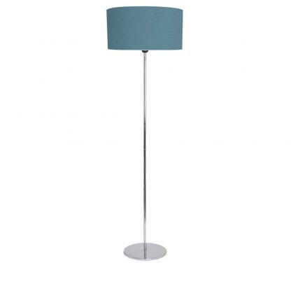 Lámpara suelo pantalla cilíndrica Adriático
