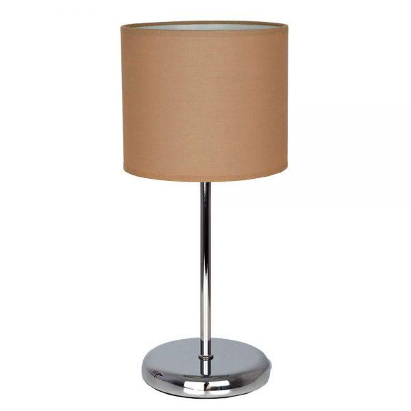 Lámpara mesa pantalla cilíndrica Adriático