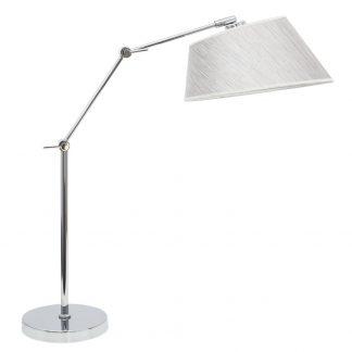 Lámpara mesa brazo articulable pantalla Sumatra
