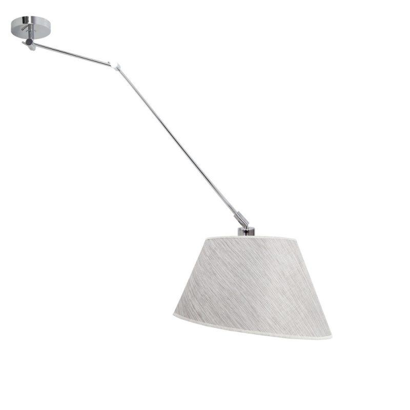 Lámpara colgante brazo articulable pantalla Sumatra