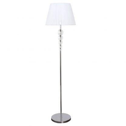 Lámpara suelo 1 luz pantalla esféra Rin