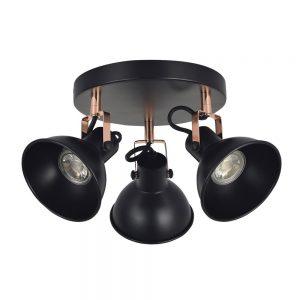 Lámpara plafón 3 focos orientables Arabia