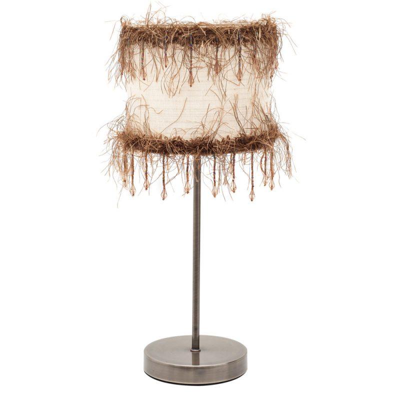 Lámpara mesa pasamanería Hilos
