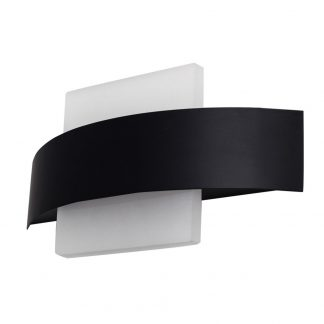 Lámpara pared led curvado Coseno cuadrado