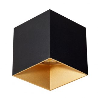 Lámpara pared led cubo cortado Tangente