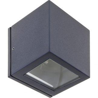 Lámpara pared exterior cubo 1xG9 Cavalum