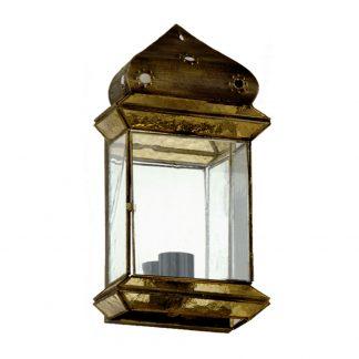 Lámpara pared cristal Ambarina Artesanía 2