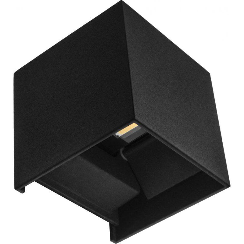 Aplique led 6W cubo Sever