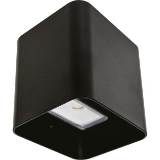 Aplique led 8W rectangular esquinas curvadas Soure