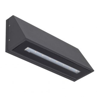Aplique led exterior antracita Olo