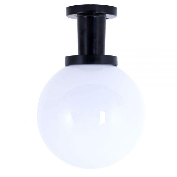 Plafon exterior negro esfera Ambiente