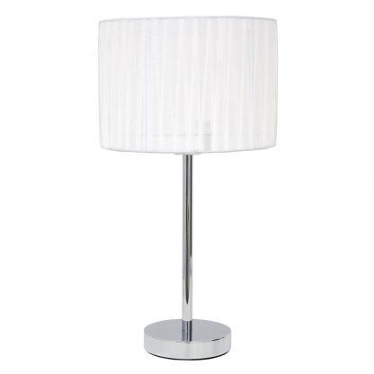 Lámpara de mesa con pantalla textil Durango