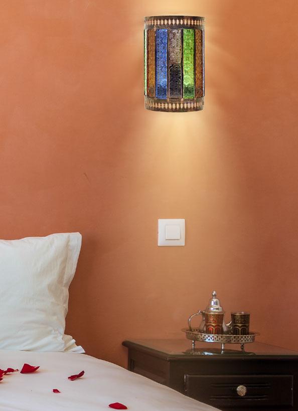 Aplique pared artesanal Casablanca