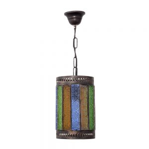 Lámpara colgante artesanal Casablanca