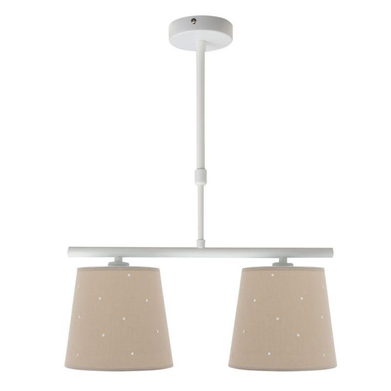Lámpara 2 luces infantil pantalla Consciencia