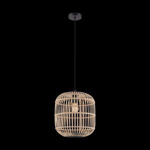 Lámpara colgante madera natural 35 cm. Bordesley