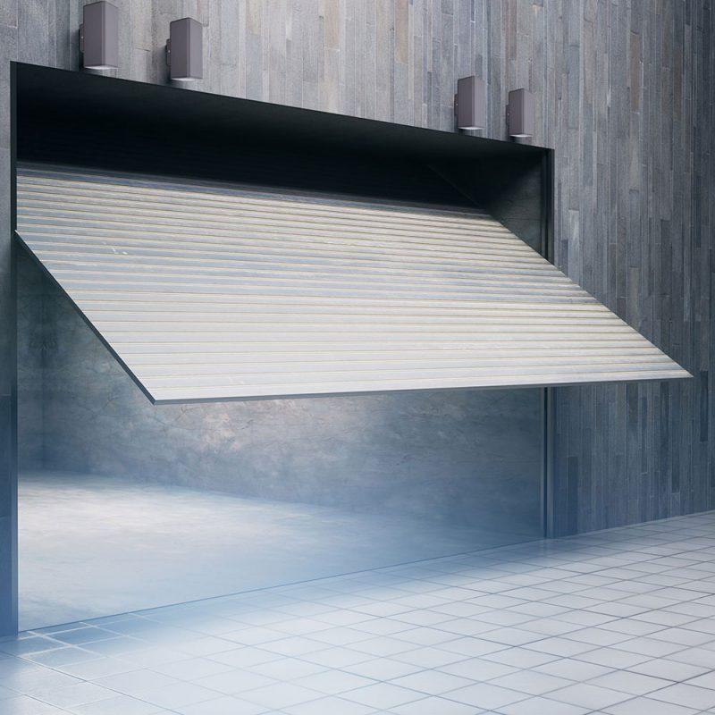 Aplique pared exterior rectangular Yopol