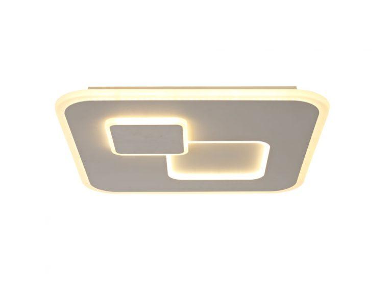 Plafón led cuadrado regulable Quad
