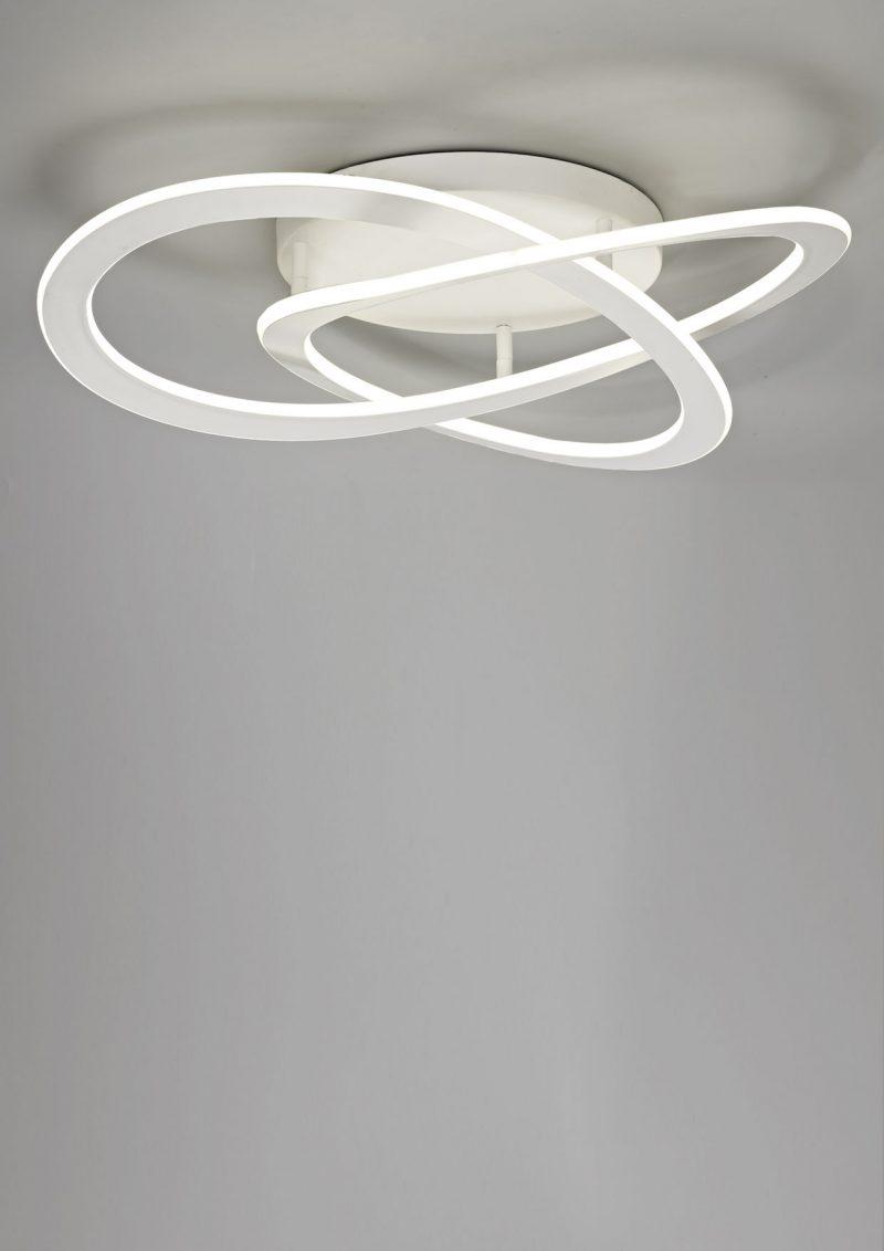 Plafón techo blanco led Planet