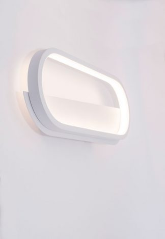 Aplique pared led oval Box