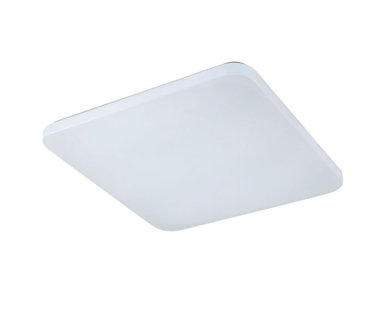 Plafón led cuadrado blanco Quatro II