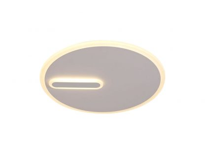 Plafón led redondo blanco arena Clock