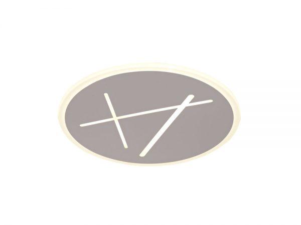 Plafón led redondo blanco arena Kenzo