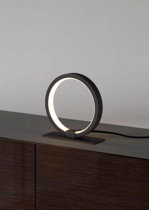 Lámpara de mesa led un aro Kitesurf