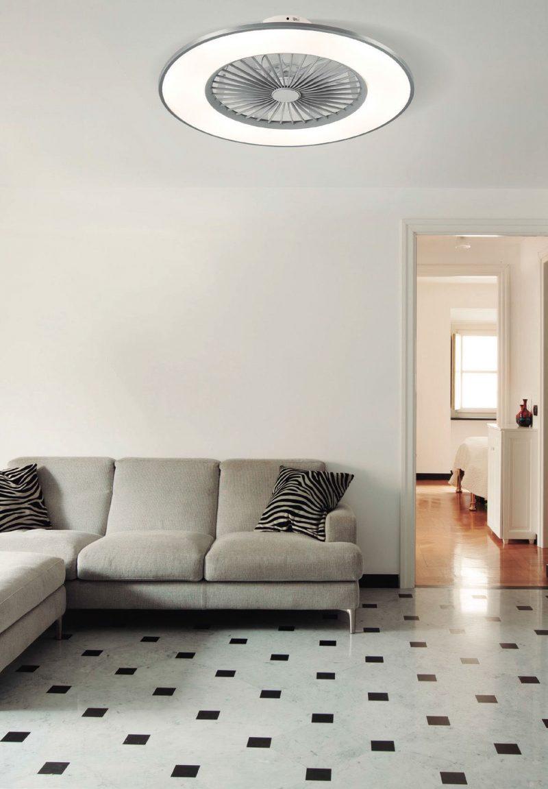 Ventilador plafón techo led Bofu