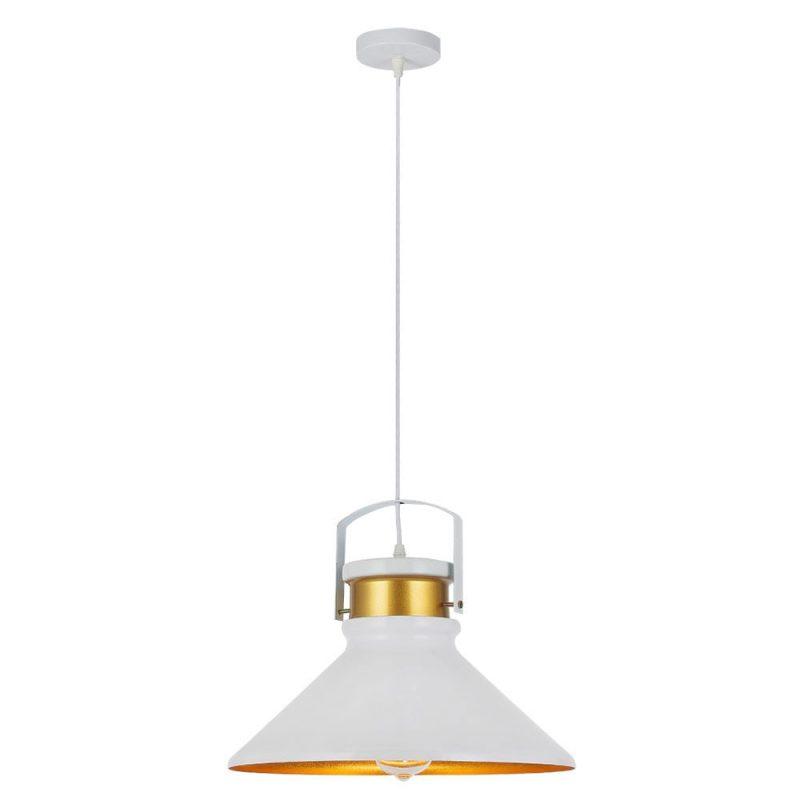 Lámpara colgante metal 37'5 cm Pelicano