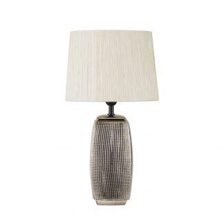 Lámpara de mesa con pantalla Sucupira