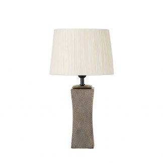 Lámpara de mesa con pantalla Palo Santo