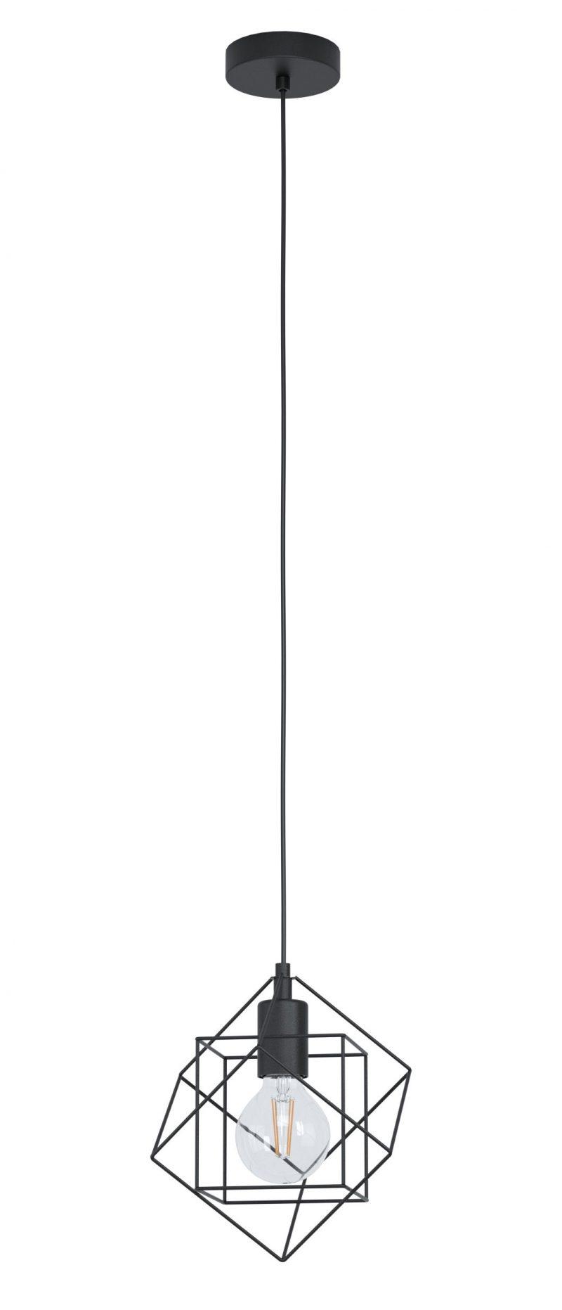 Lámpara colgante cubos 24 cm Straiton