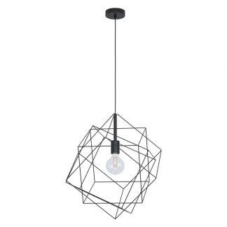Lámpara colgante cubos 51,5 cm Straiton
