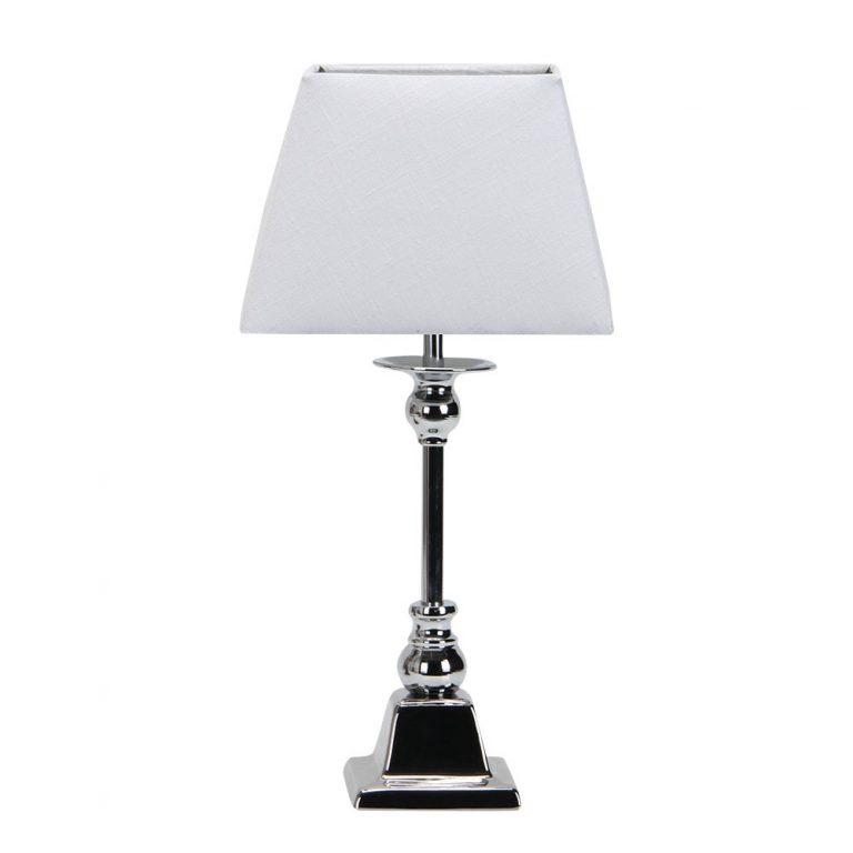 Lámpara de mesa metal pantalla Arlequin
